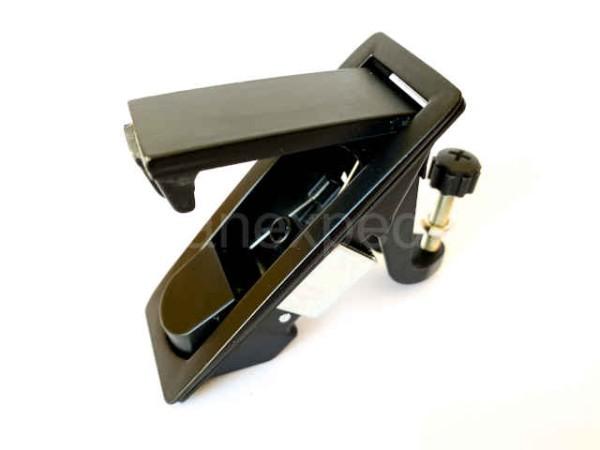 Hebelverschluss schwarz pulverbeschichtet