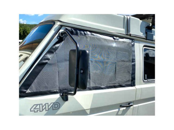 T3 magnetisches Moskitonetz / Fliegengitter für Fahrer-und Beifahrerfenster