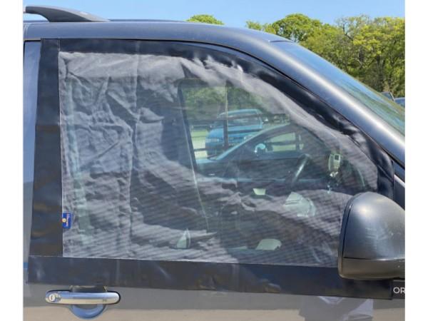 Bus T5 / T6 magnetisches Moskitonetz / Insektenschutz für Fahrer-und Beifahrerfenster