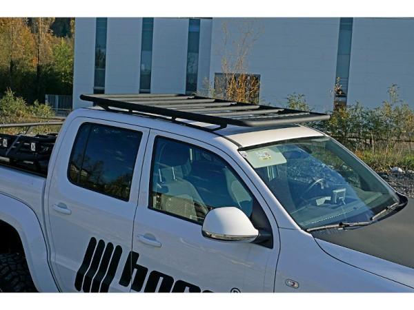Dachträger NAVIS für Nissan Navara Alu schwarz