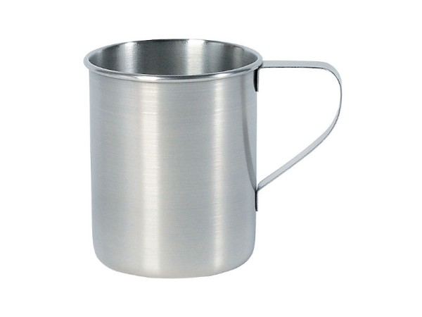 Edelstahl Henkel Becher Mug 250 ml