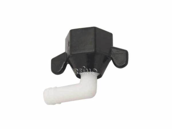 Shurflopumpe gewinkelt  - Pumpenanschluss, 12mm