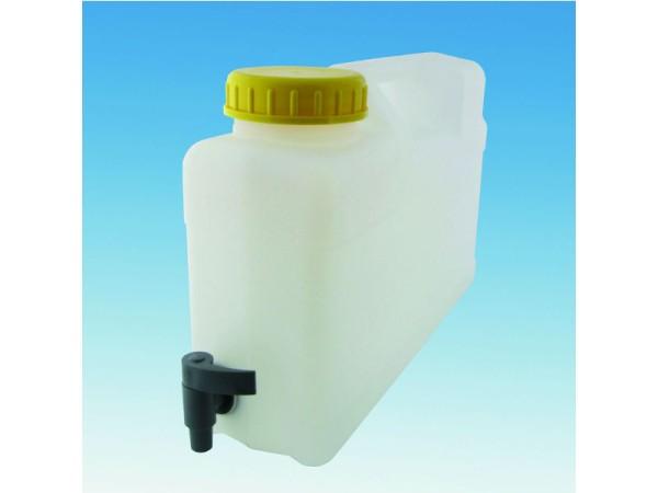 12 Liter Raumsparkanister mit Auslaufhahn