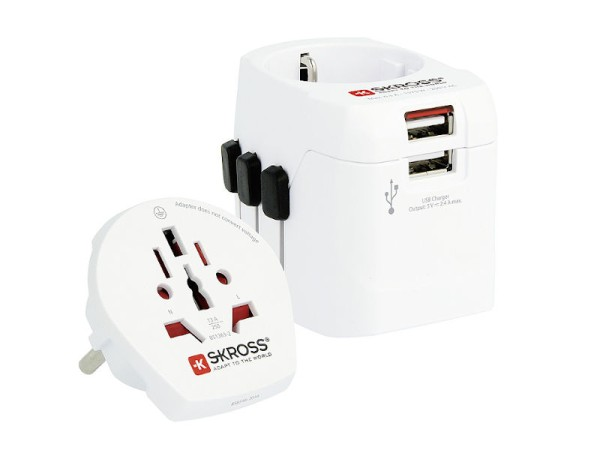 Adapter Stecker PRO Light USB World SKROSS