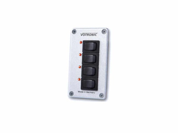 Votronic Schalterpanel mit 4 Schaltern 4 S