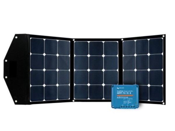Faltbares Solarmodul 120W Ultra KIT inkl. MPPT 15A