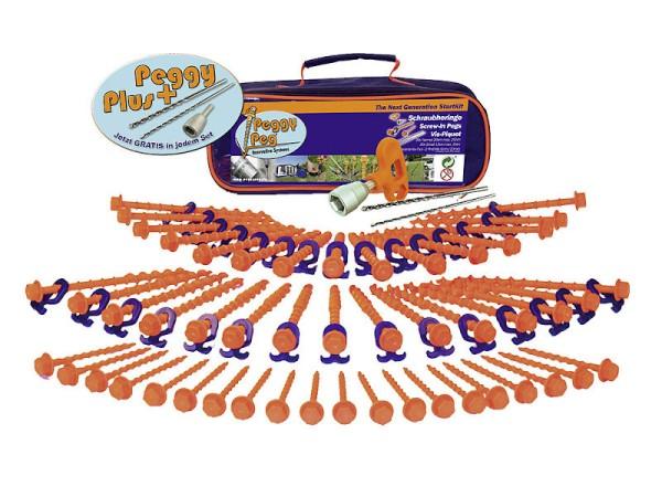 Schraubheringe Start Kit 84-tlg. - Peggy Peg