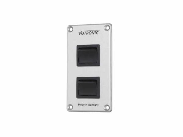 Votronic Schalter-Panel mit 2 Einzelschaltern 2x16 AS