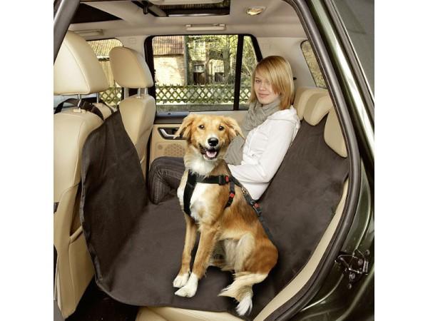 Auto Schondecke 160x130cm schwarz für Hunde