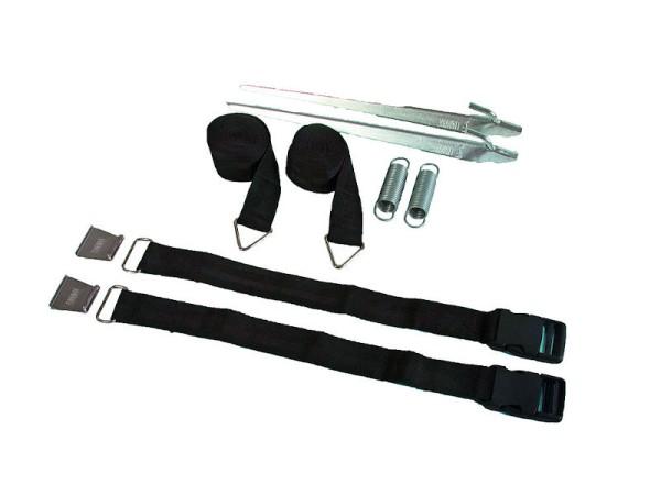 Sturmband Tie-Down S für Markisen schwarz - Fiamma