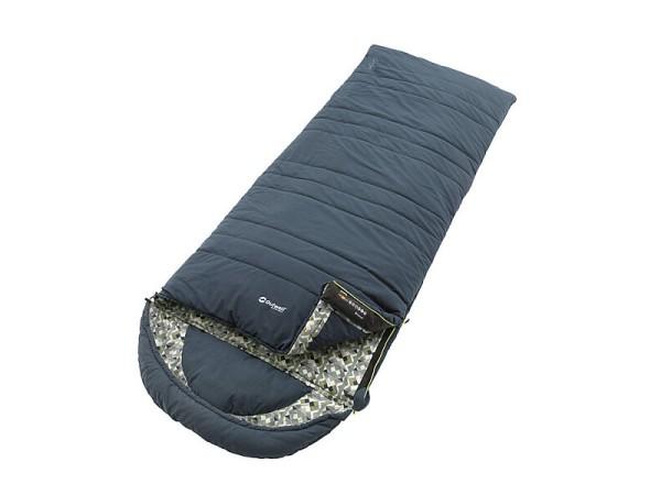 Schlafsack Outwell Camper blau Baumwolle